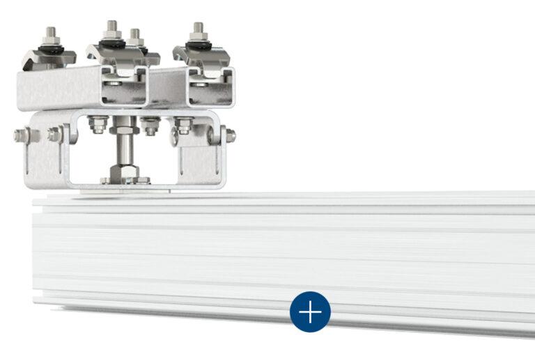 Mechrail™ lättraverssystem med lågt rullmotstånd traverssystem-kransystem-skensystem-travers-Movomech