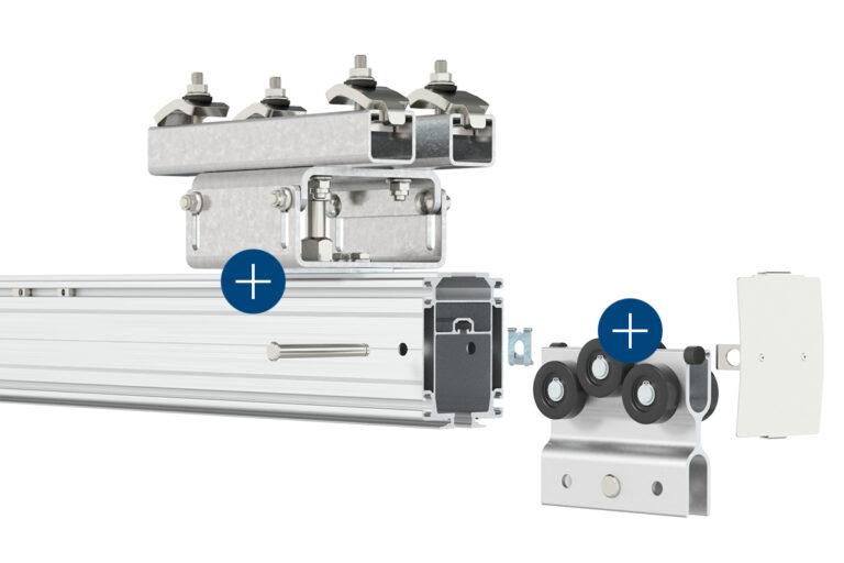 Mechrail™ lättraverssystem - traverssystem-kransystem-skensystem-travers-Movomech