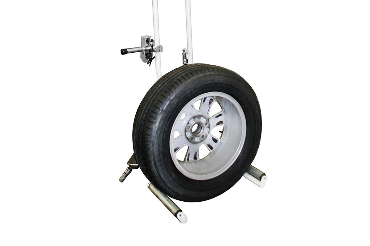 Hjullyftverktyg för ergonomiska hjullyft