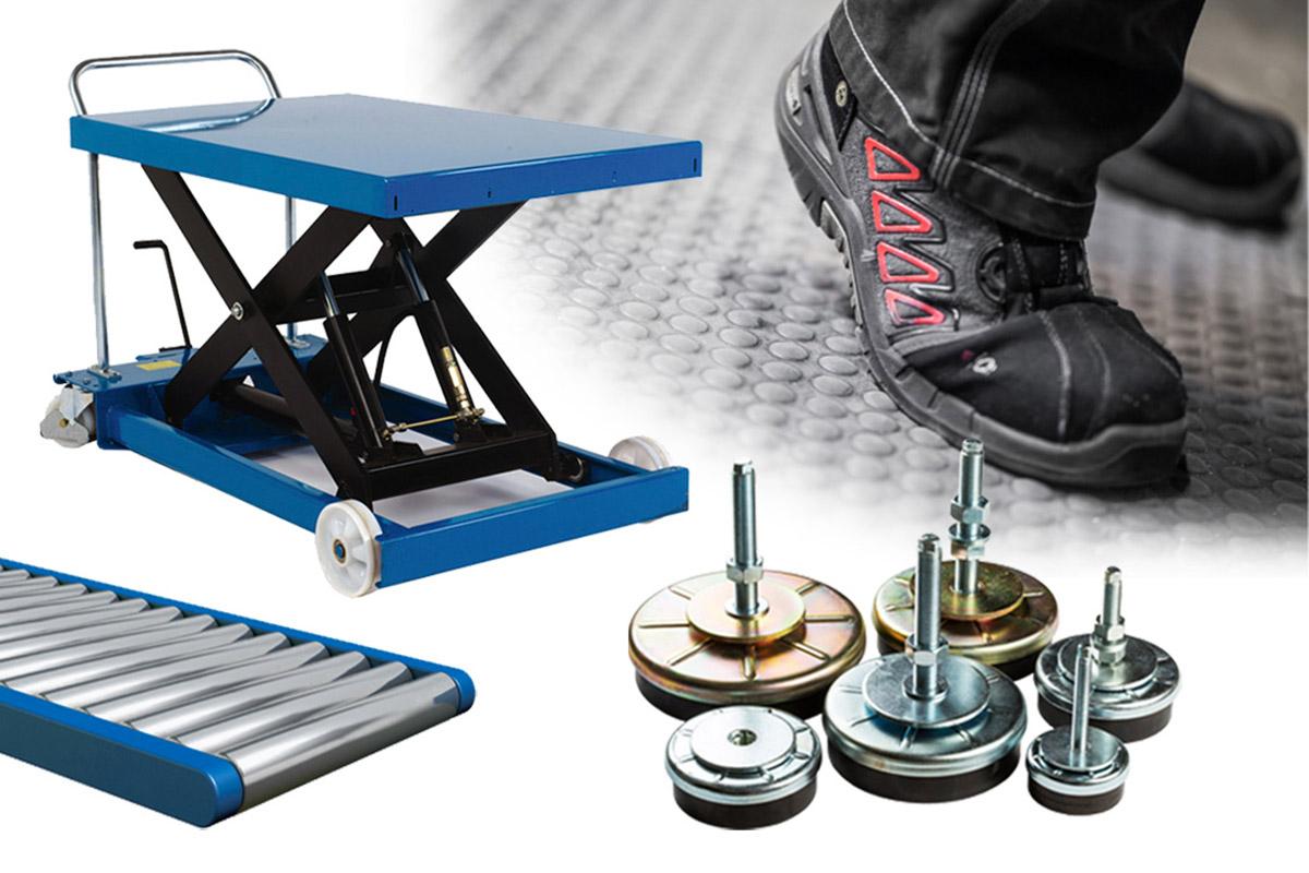 Kringutrustning och övriga produkter för materialhantering