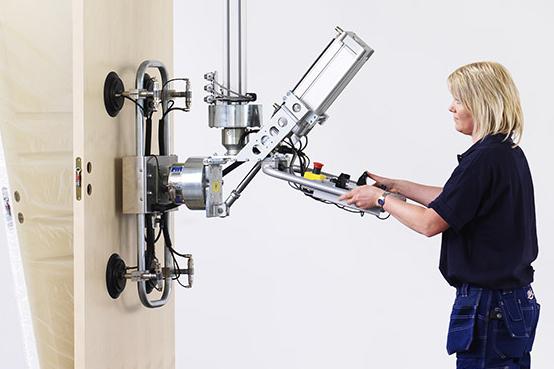 Lyftverktyg för dörrhantering, dörrlyft och skivhantering - Movomech Mechlift Pro