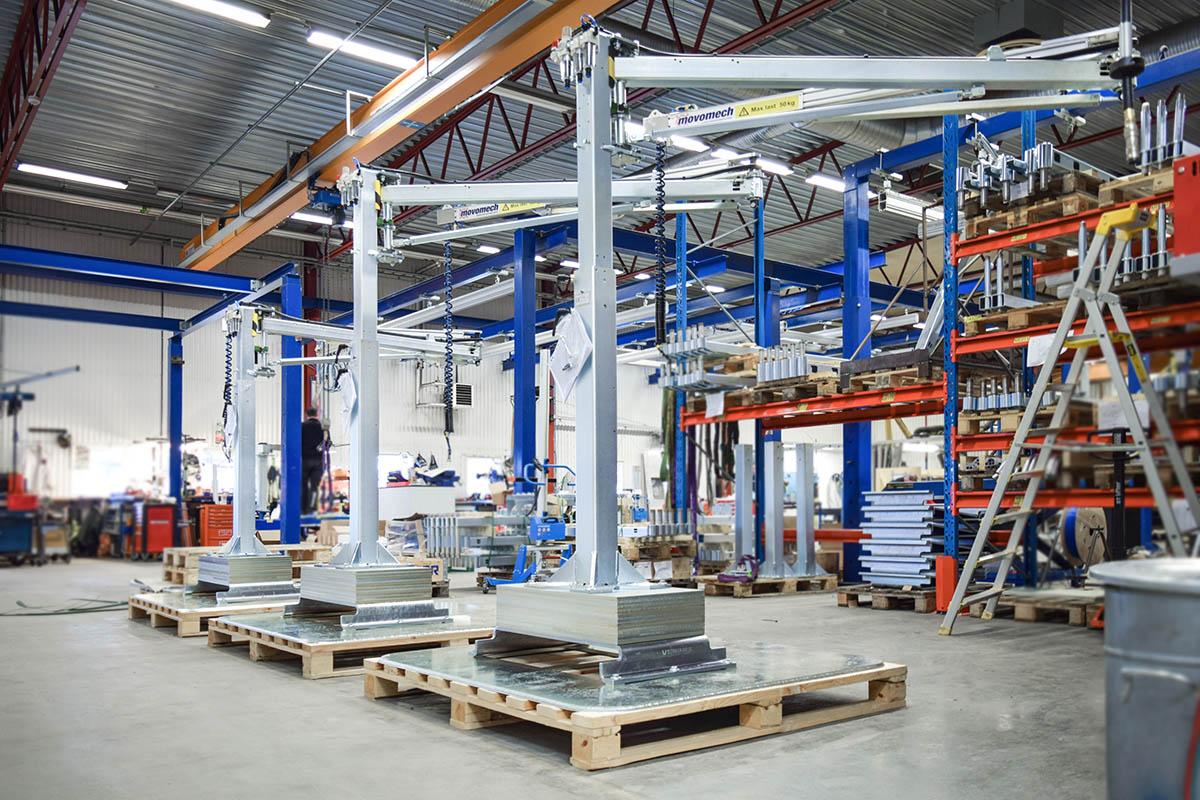 Svängkran | Movomech lyftteknik och materialhantering