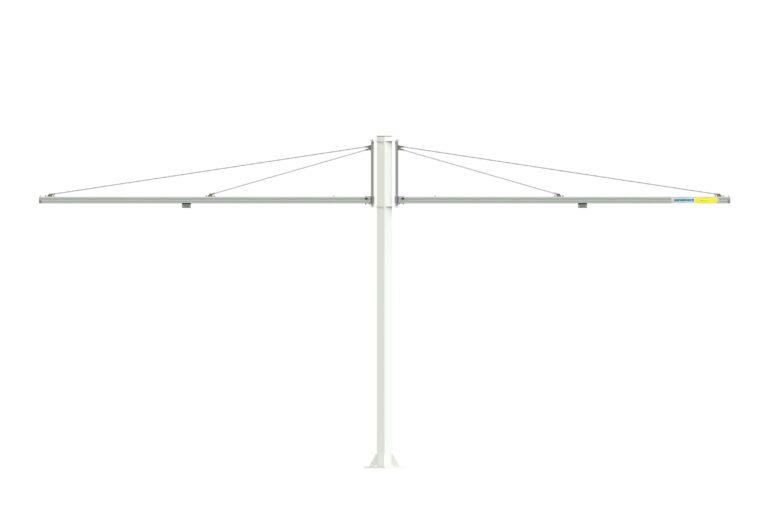Customized jib crane - specialsvängkran - dubbelarm svängkran - kran Movomech Mechrane