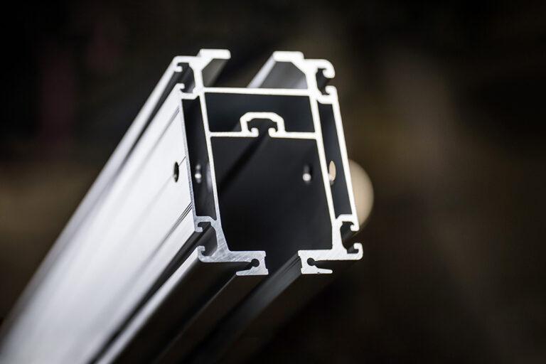 Mechrail AHB140 aluminium crane profile for ergonomic material handling