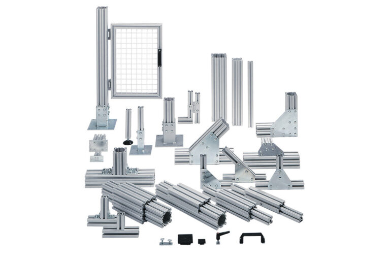 Aluminium profile system Mechprofile by Movomech