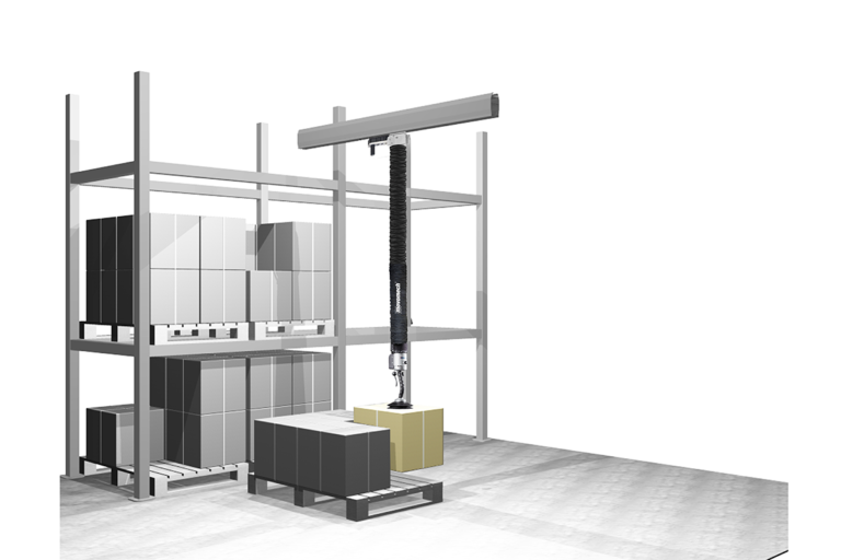 Lyftutrustning - Vakuumlyftare logistik - Ejektor Movomech Easyhand Pro